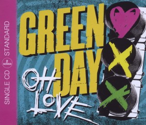 Green day shop oh love green day single cd 2 track musik