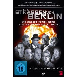 DIE STRAßEN VON BERLIN - DIE KOMPLETTE SERIE von DIE STRAßEN VON BERLIN - DVD-Video Album jetzt im Bravado Shop