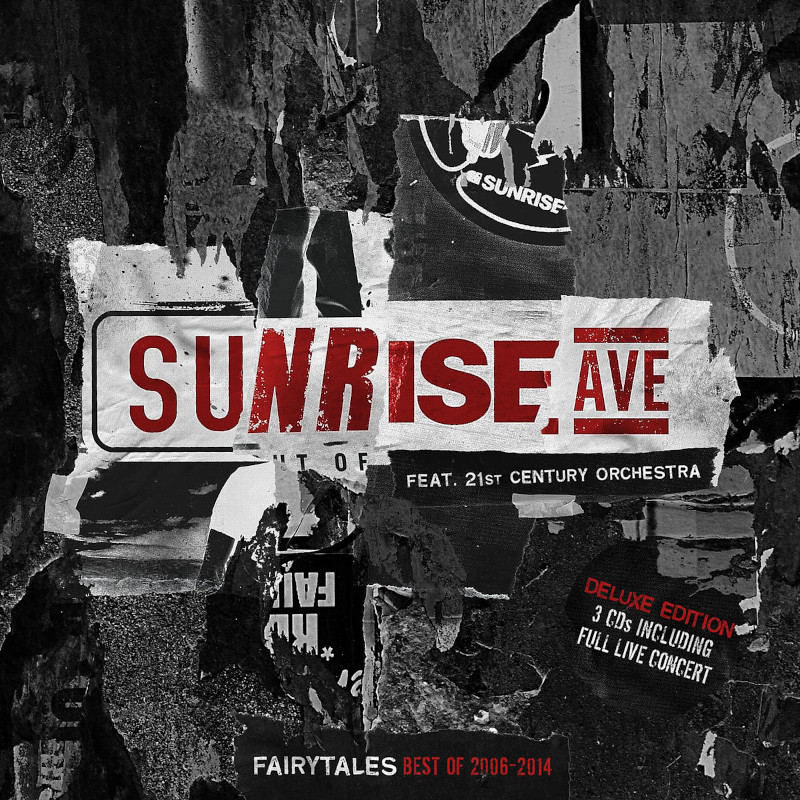 √Fairytales-Best Of 2006-2014 (Orchestral/Live) von Sunrise Avenue & 21st Century Orchestra - CD jetzt im Sunrise Avenue Shop