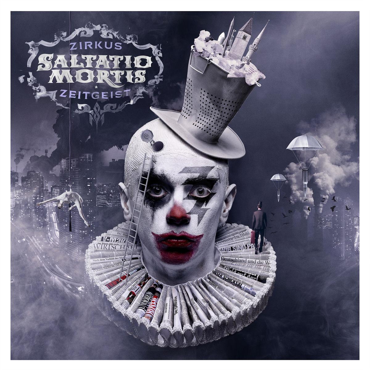 Zirkus Zeitgeist (Farbige 2lp & MP3 Code) von Saltatio Mortis - LP jetzt im Saltatio Mortis Shop