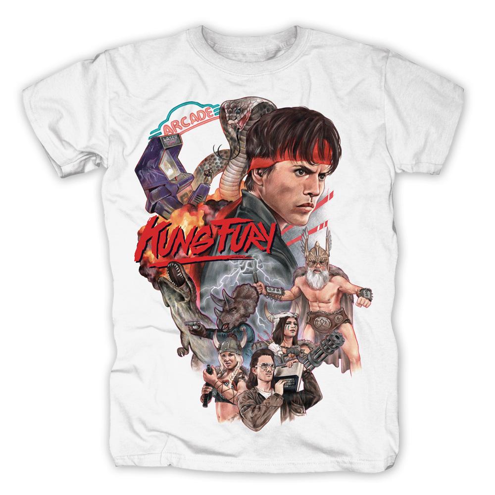 Arcade von Kung Fury - T-Shirt jetzt im SuperTees Shop
