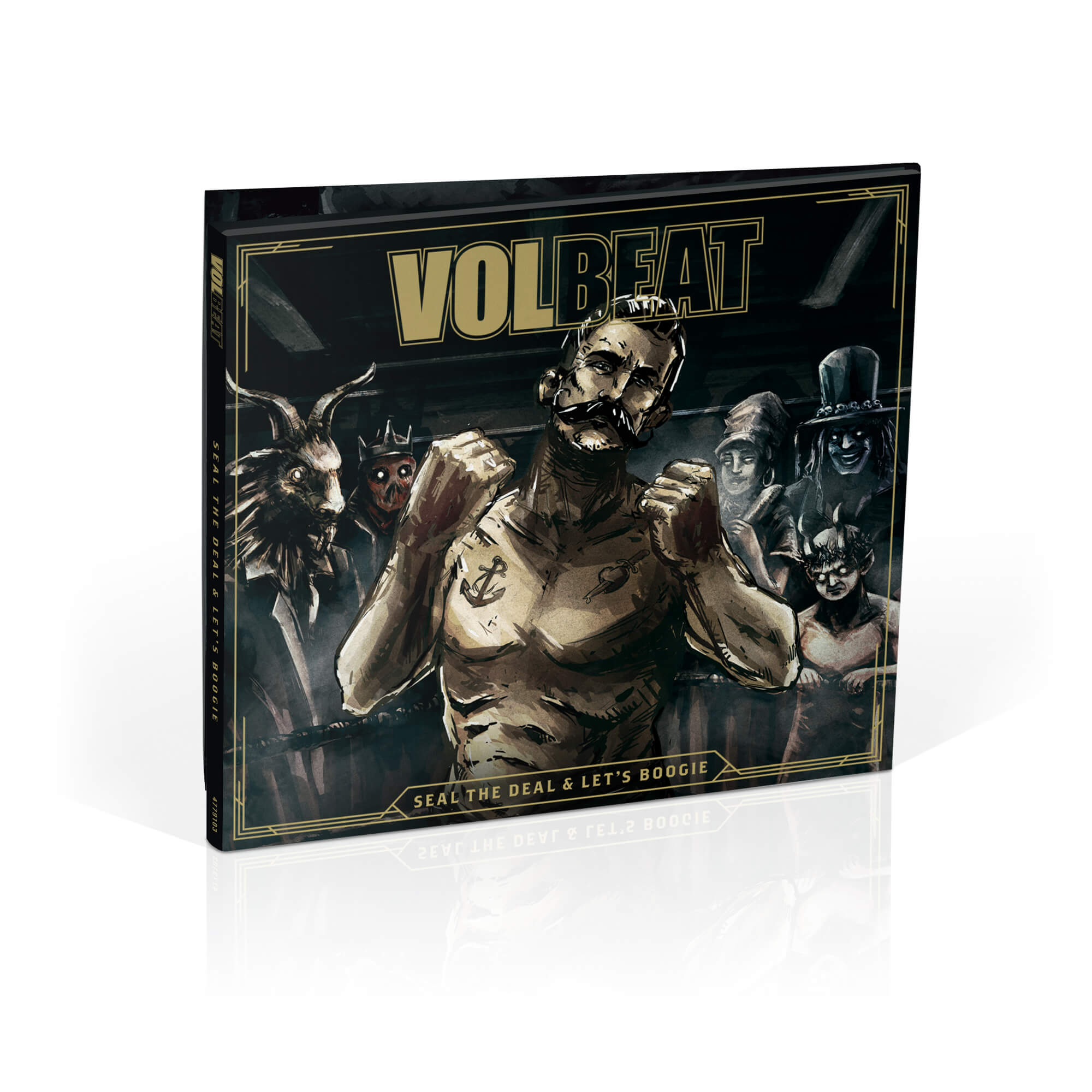 √Seal The Deal & Let's Boogie (Ltd.Deluxe Edt.) von Volbeat - CD jetzt im Volbeat Shop