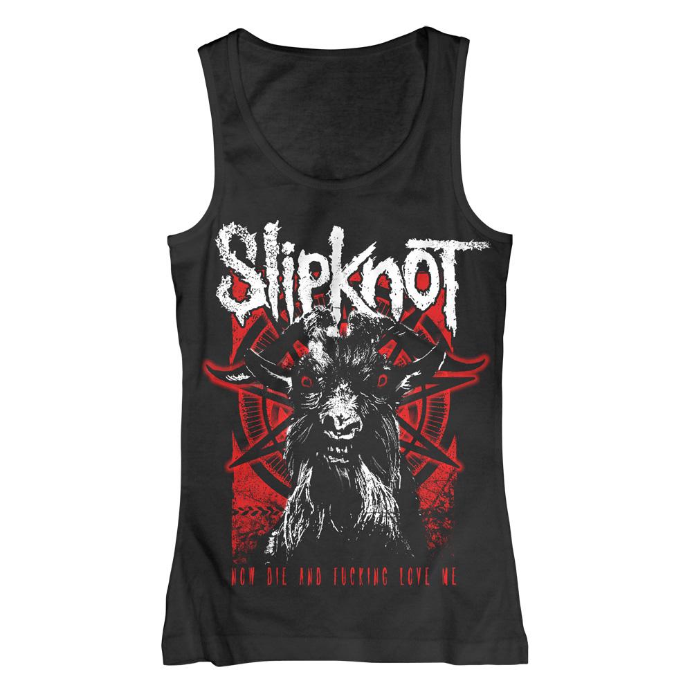 Goat Thresh von Slipknot - Girlie Top jetzt im Slipknot - Shop Shop