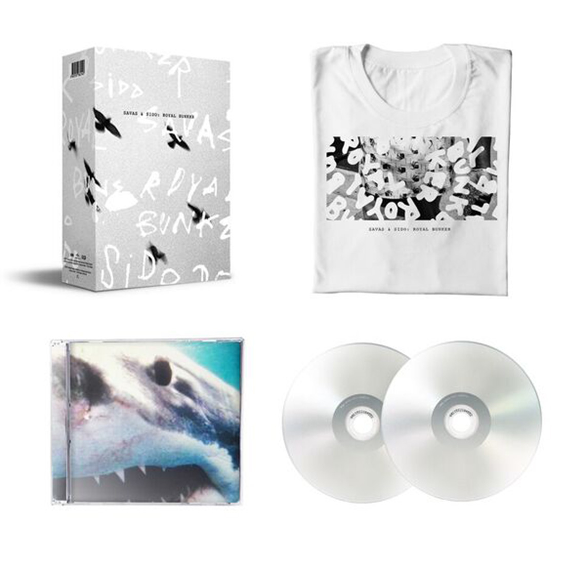 √Royal Bunker (Ltd. T-Shirt Bundle) von Sido - Bundle jetzt im Sido Official Shop