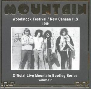 Woodstock Festival/New Canaan 1969 von Mountain - CD jetzt im Bravado Shop