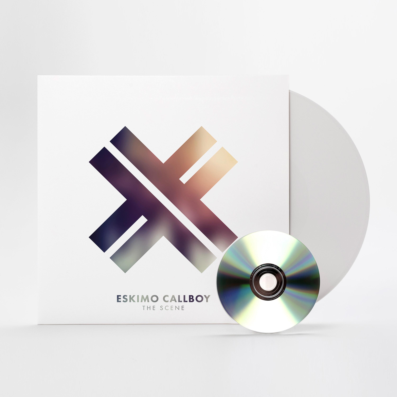 The Scene (White Vinyl + CD Limited) von Eskimo Callboy - Vinyl + CD jetzt im Eskimo Callboy Shop
