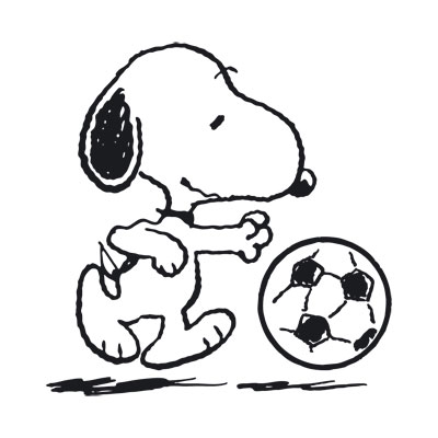 Bravado - Snoopy Fußball - The Peanuts - T-Shirt - Merch