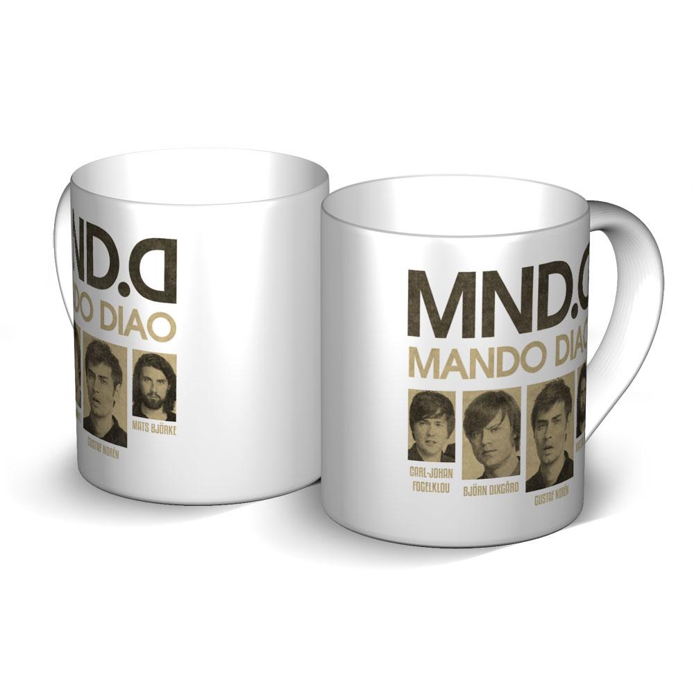 MND.D von Mando Diao - Becher jetzt im Bravado Shop