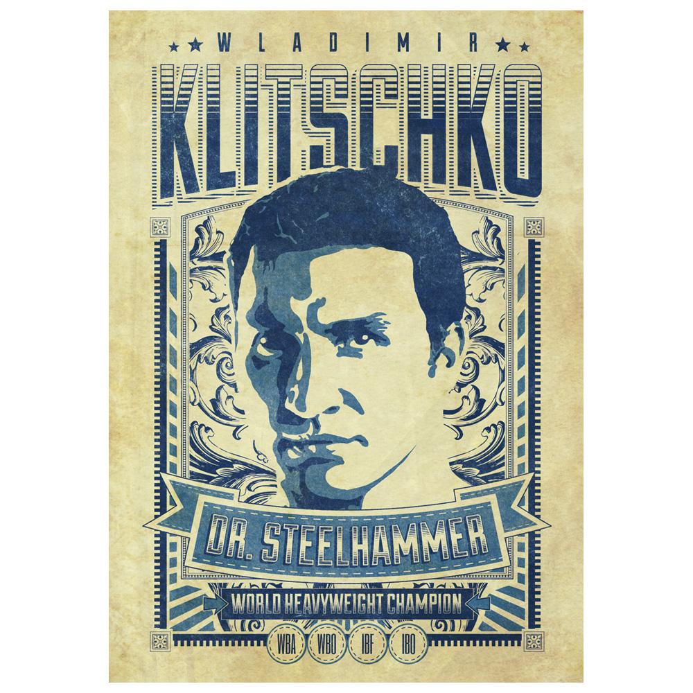 Legendary von Klitschko - Poster jetzt im Klitschko Shop