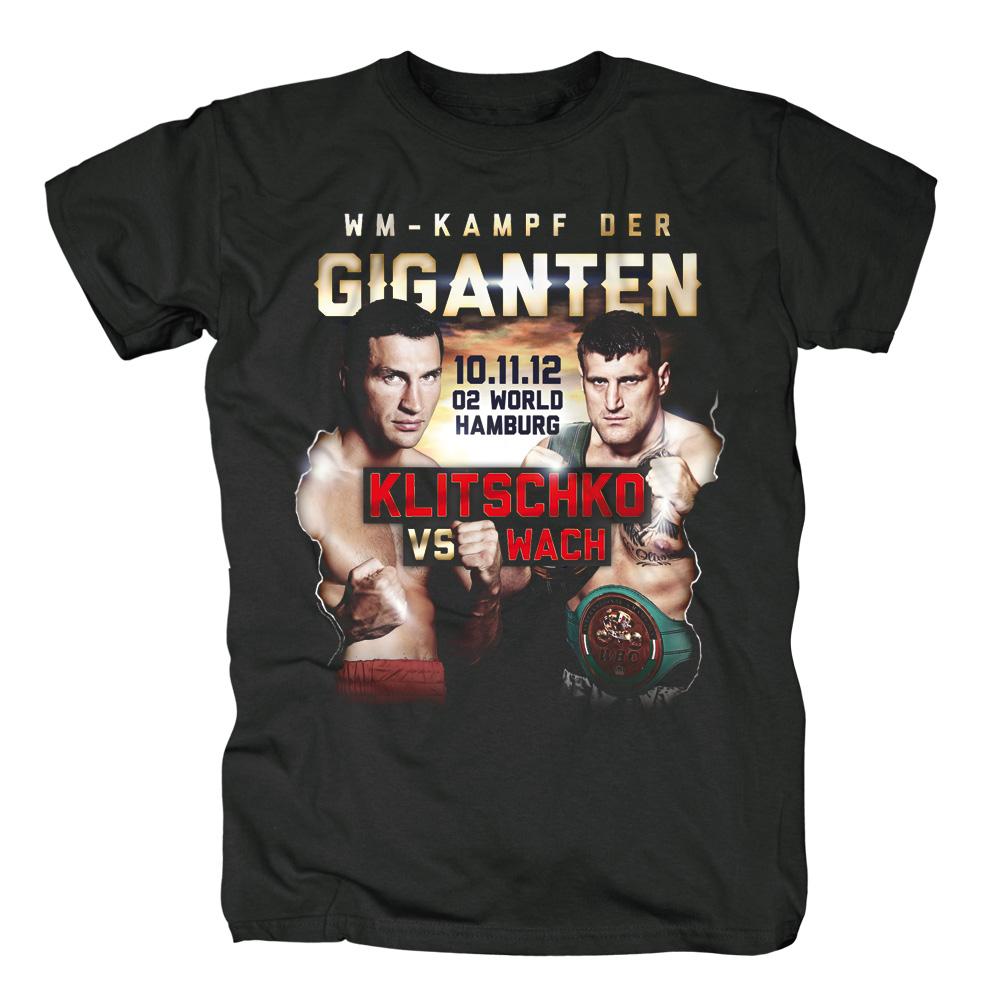 Klitschko vs Wach von Klitschko - T-Shirt jetzt im Klitschko Shop