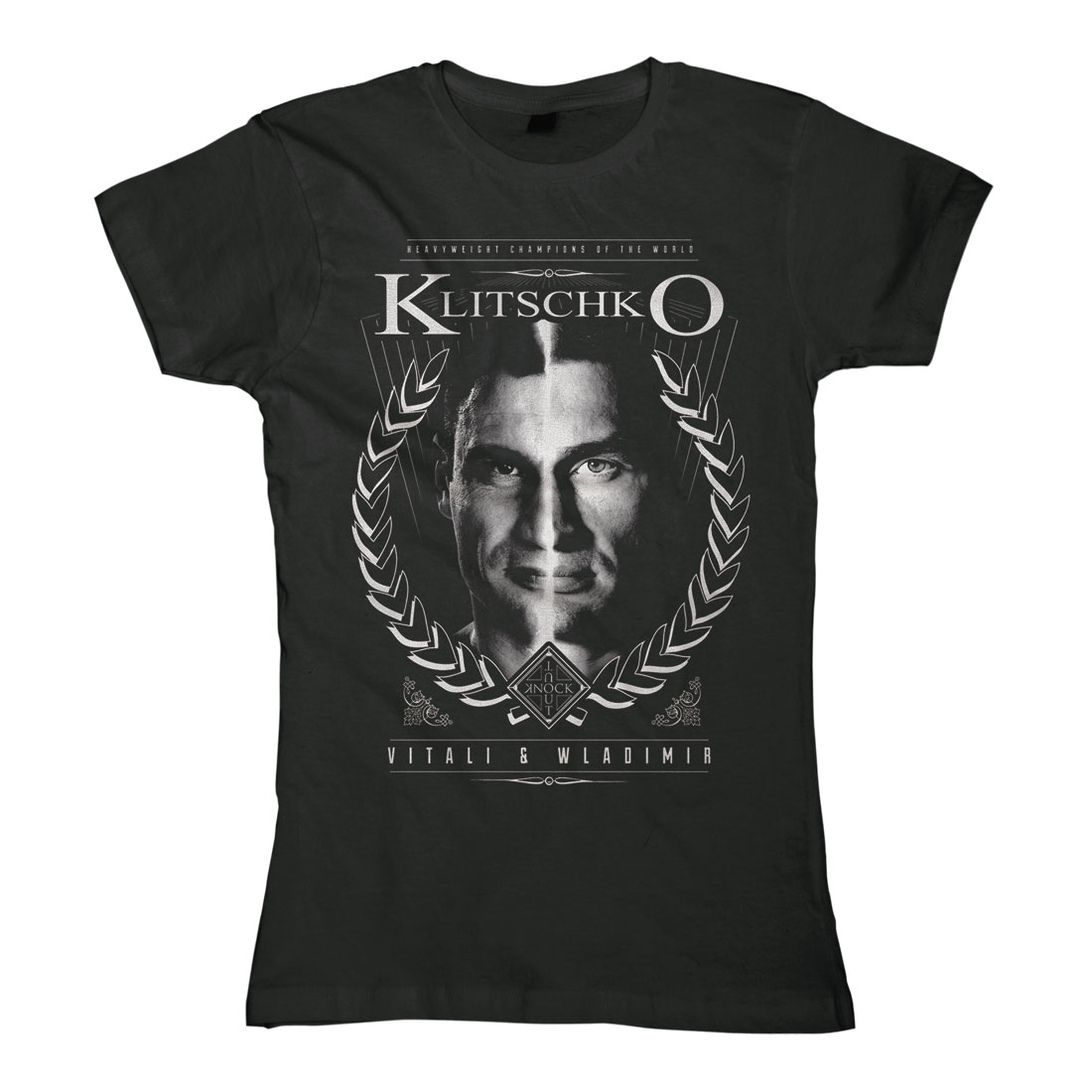 Two Face von Klitschko - Girlie Shirt jetzt im Klitschko Shop