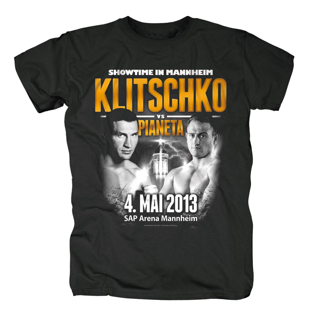 Klitschko vs Pianeta von Klitschko - T-Shirt jetzt im Klitschko Shop