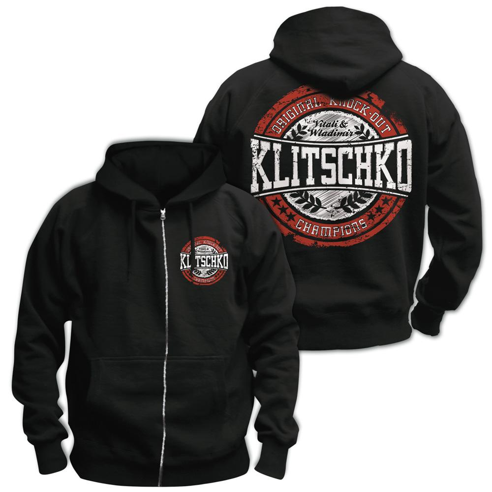 Baseball Logo von Klitschko - Kapuzenjacke jetzt im Klitschko Shop