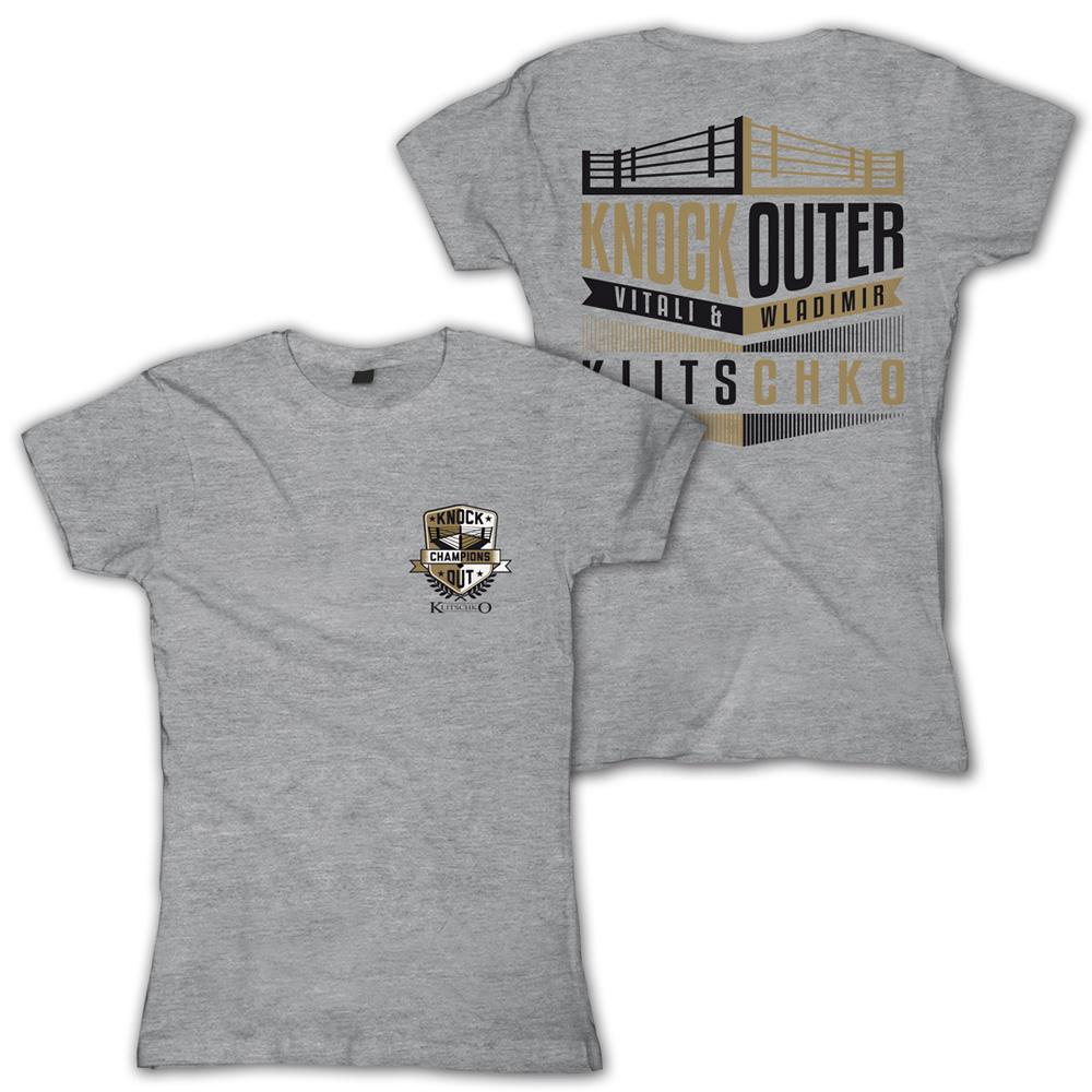 Original Knock Outer von Klitschko - Girlie Shirt jetzt im Klitschko Shop