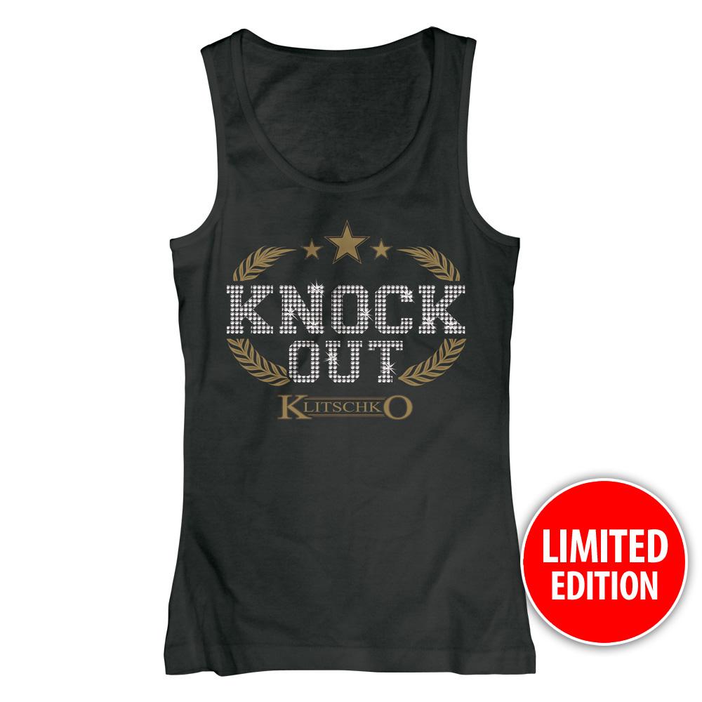 Knock Out - Strass von Klitschko - Girlie Top jetzt im Klitschko Shop