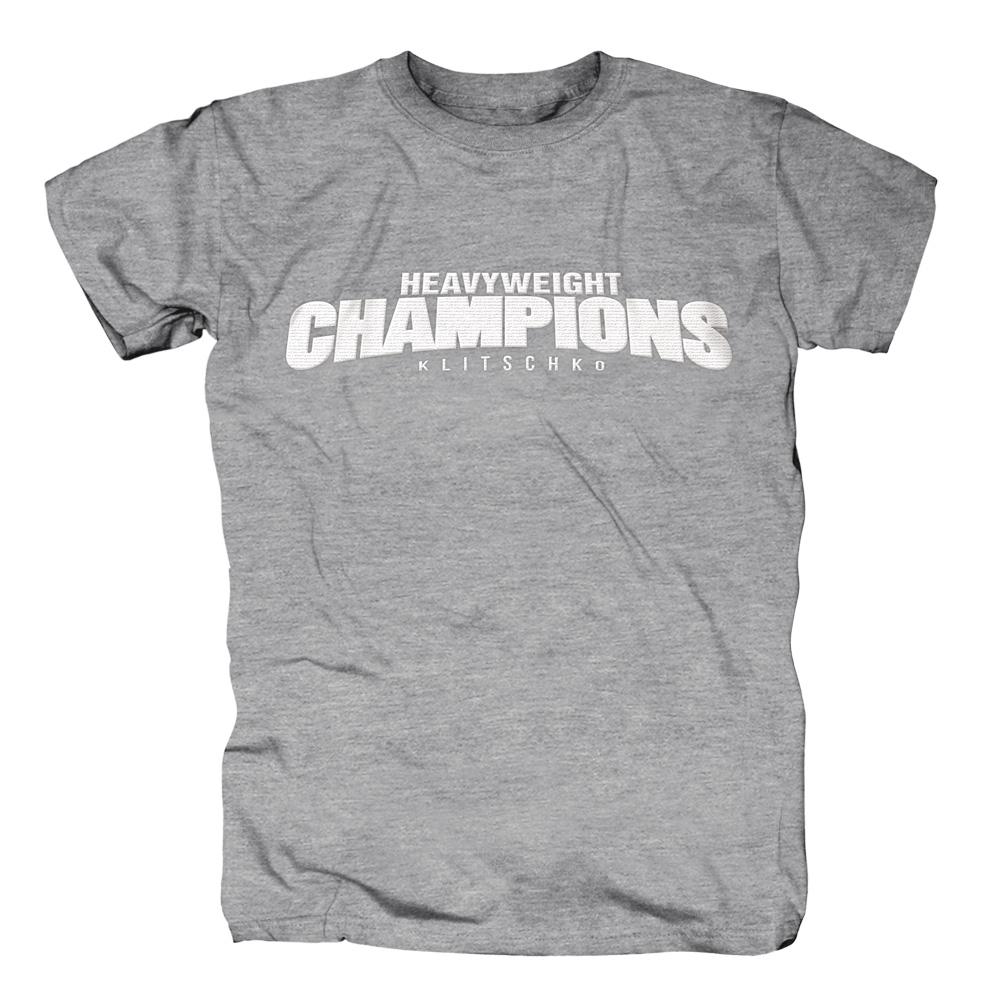 Heavyweight Champions von Klitschko - T-Shirt jetzt im Klitschko Shop