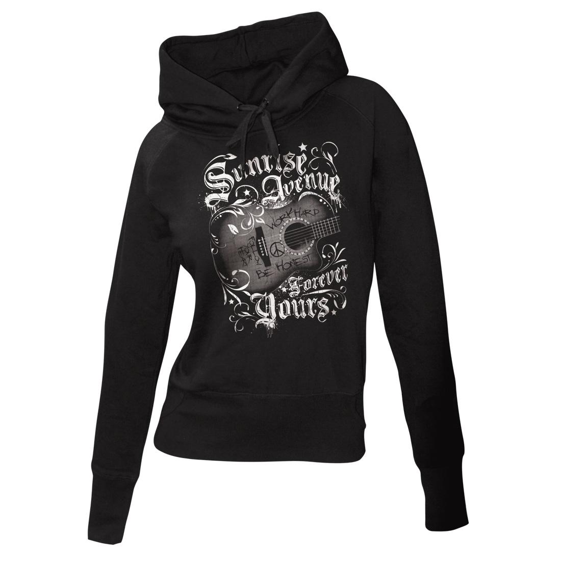 √Forever Yours von Sunrise Avenue - Girlie hooded sweater jetzt im Sunrise Avenue Shop