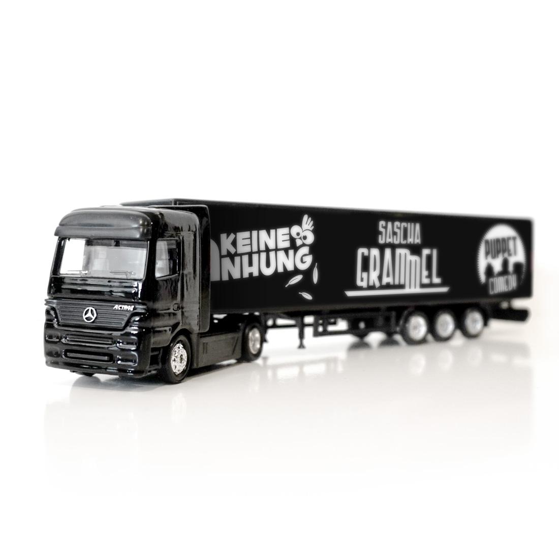 Keine Anhung von Sascha Grammel - Modell-Truck jetzt im Bravado Shop
