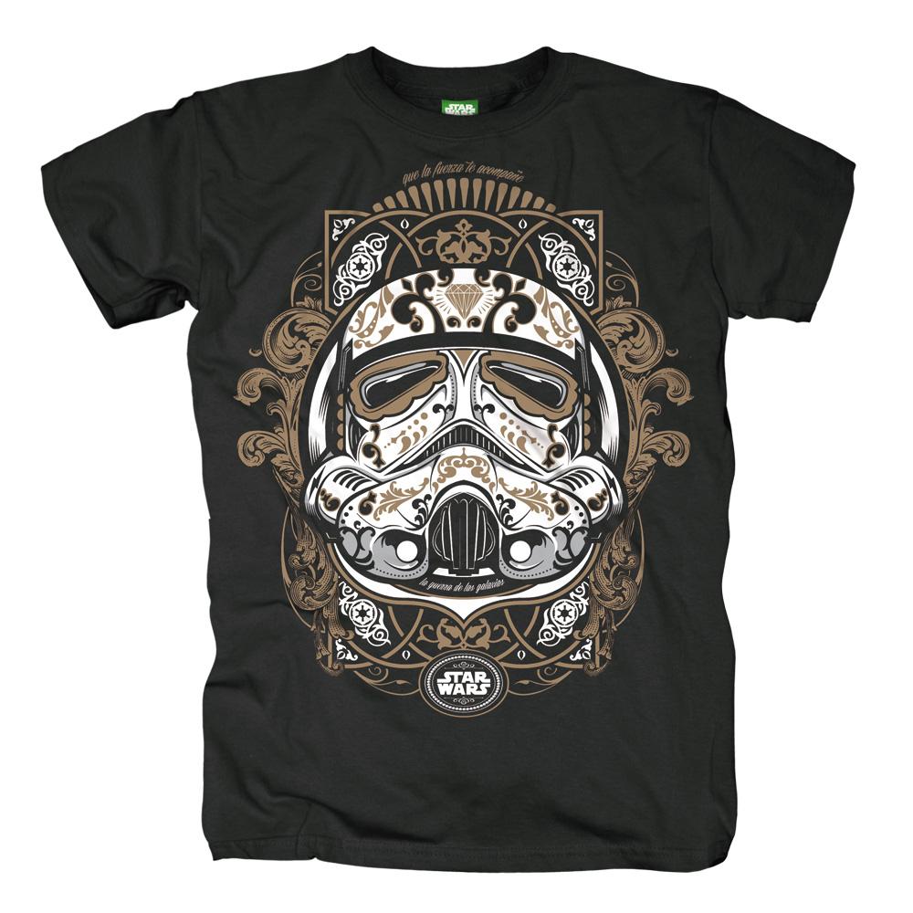 Trooper De Los Muertos von Star Wars - T-Shirt jetzt im SuperTees Shop