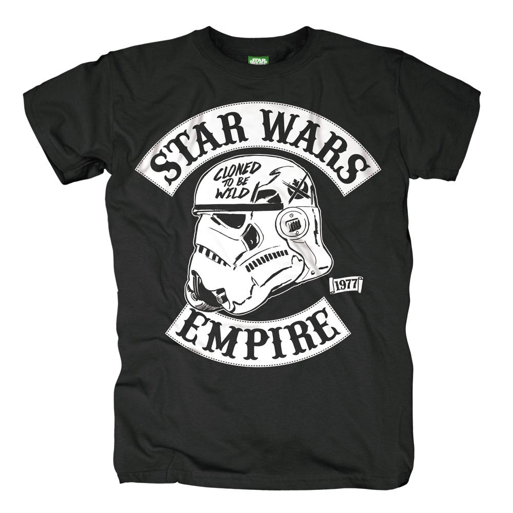 Cloned To Be Wild von Star Wars - T-Shirt jetzt im SuperTees Shop