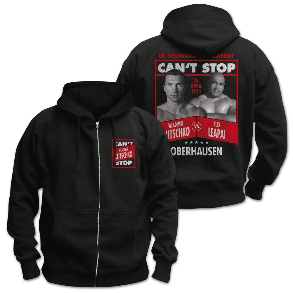 Wladimir Klitschko vs Alex Leapai von Klitschko - Kapuzenjacke jetzt im Klitschko Shop