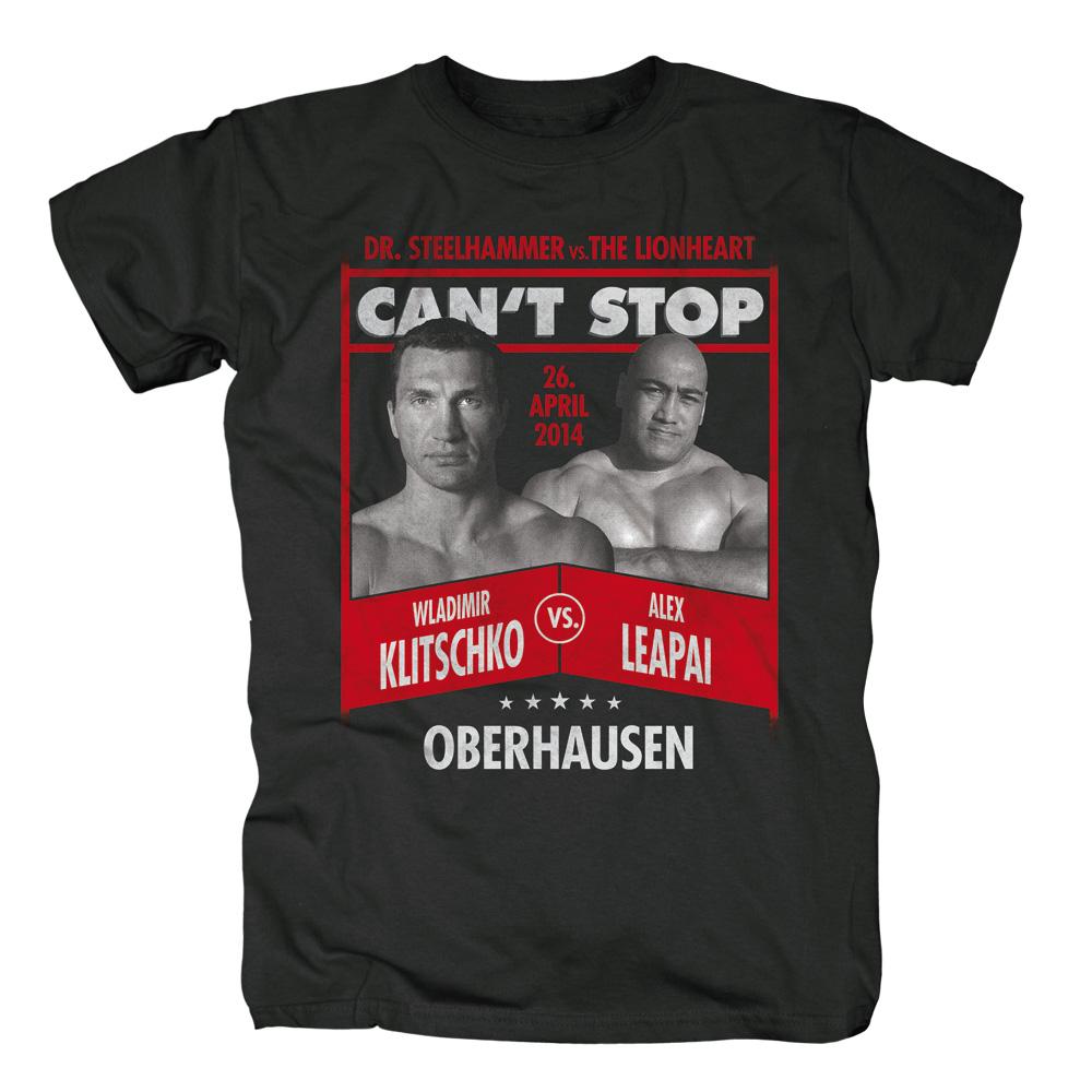 Wladimir Klitschko vs Alex Leapai von Klitschko - T-Shirt jetzt im Klitschko Shop
