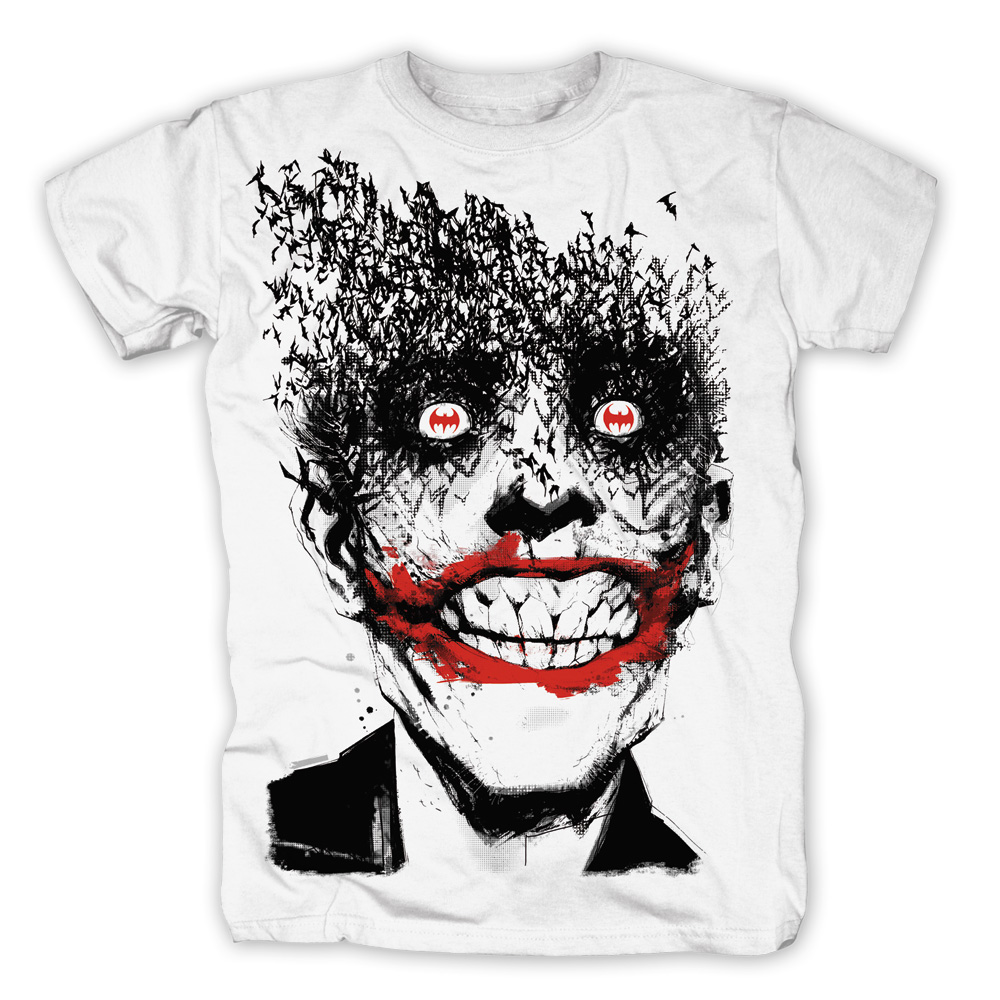 Joker Smile von Justice League - T-Shirt jetzt im SuperTees Shop