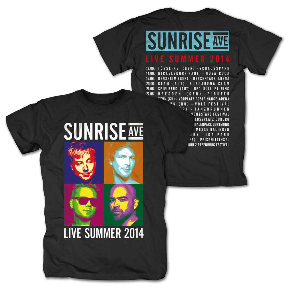 Sunrise Avenue Sunrise Avenue Shop Live