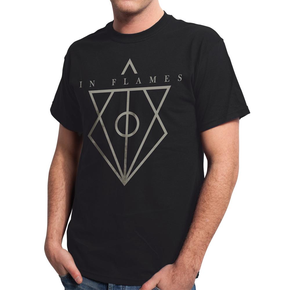 √Jesterhead Logo von In Flames - T-Shirt jetzt im In Flames Shop