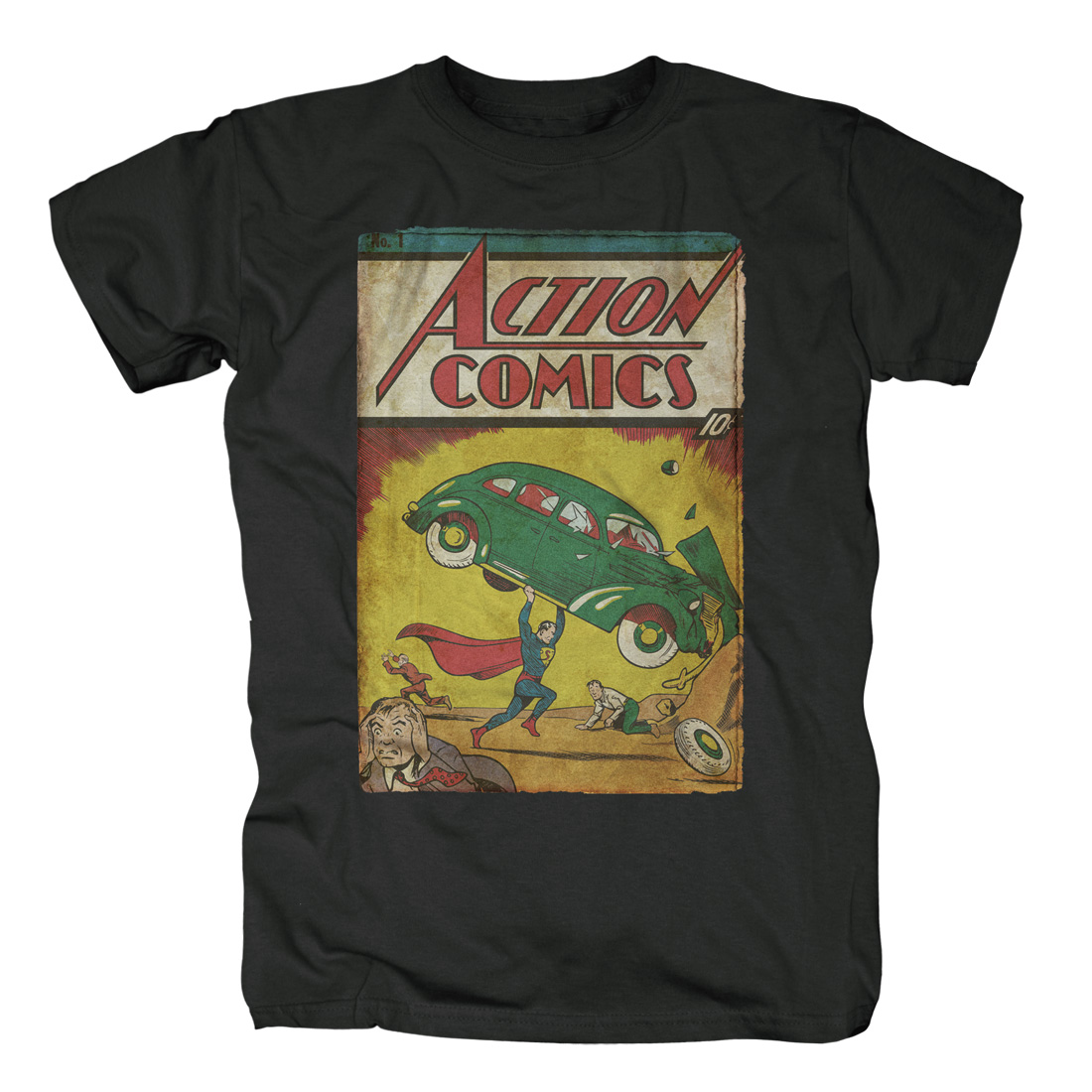 Action Comics No.1 von Justice League - T-Shirt jetzt im SuperTees Shop