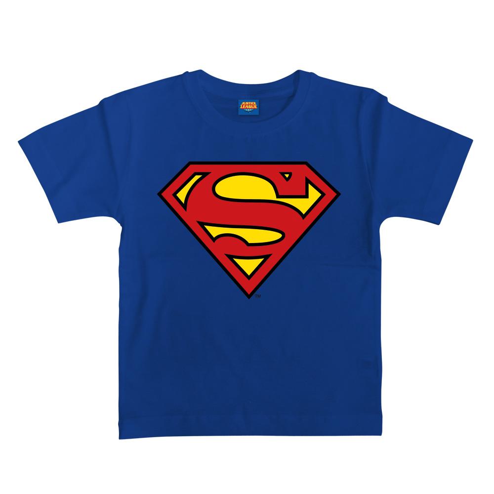 Superman Logo von Justice League - Kinder Shirt jetzt im SuperTees Shop