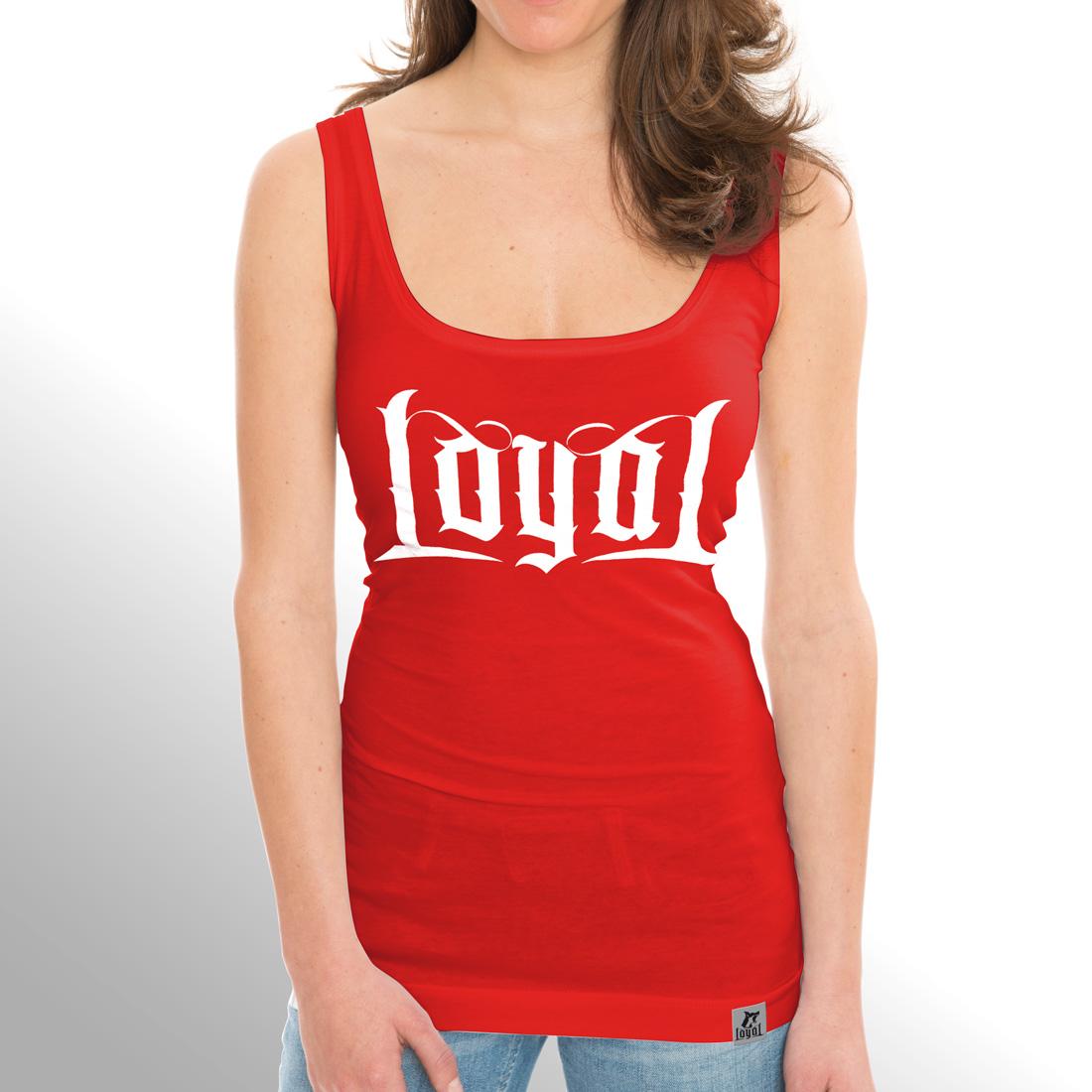 Loyal von Kontra K - Girlie Tank Top jetzt im Bravado Shop