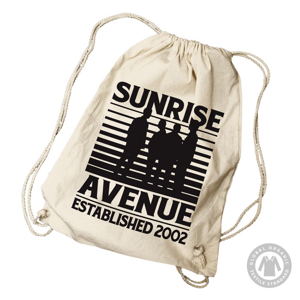 Bravado silhouette sunrise avenue rucksack gymsac merch - Forever yours sunrise avenue ...