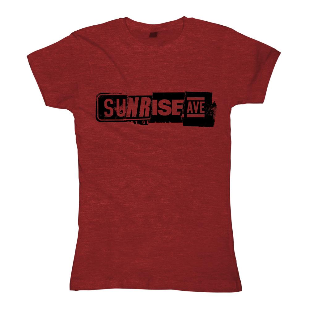 Best Of Logo von Sunrise Avenue - Girlie Shirt jetzt im Bravado Shop