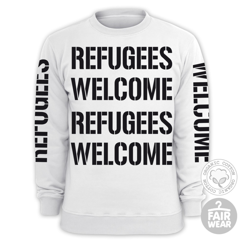 Refugees Welcome von Deichkind - Sweater jetzt im Bravado Shop