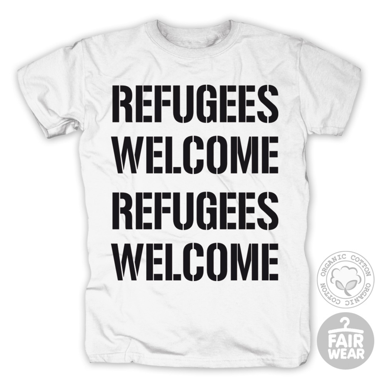 Refugees Welcome von Deichkind - T-Shirt jetzt im Deichkind Shop