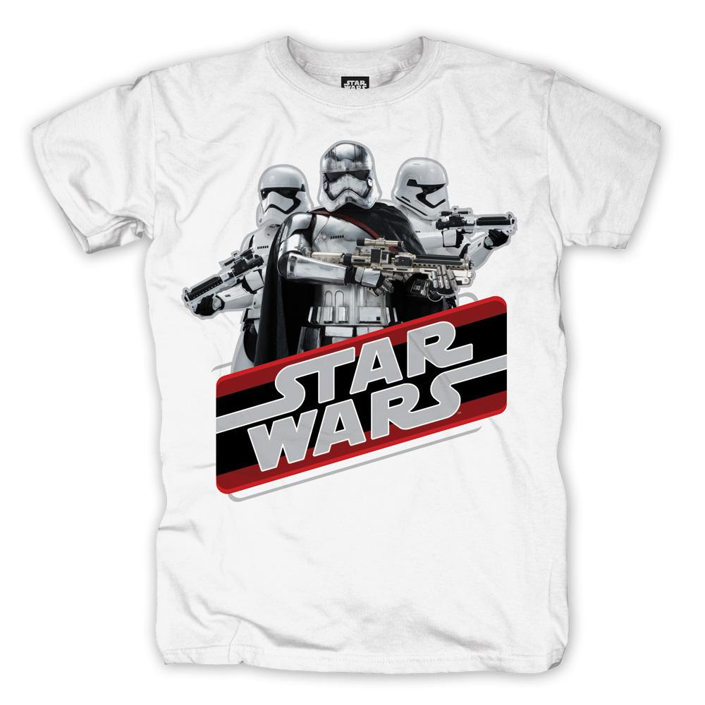 Retro Phasma von Star Wars - T-Shirt jetzt im SuperTees Shop
