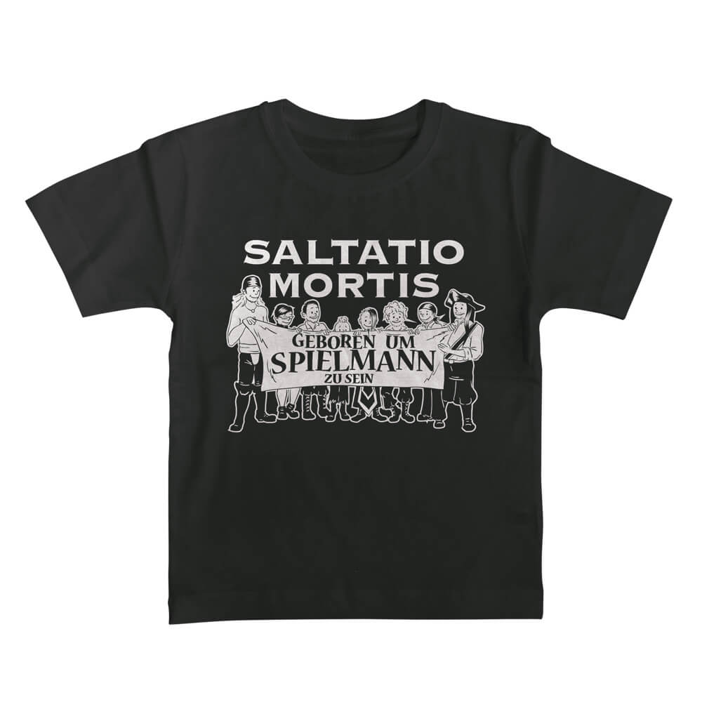 Geboren um Spielmann zu sein von Saltatio Mortis - Kinder Shirt jetzt im Bravado Shop