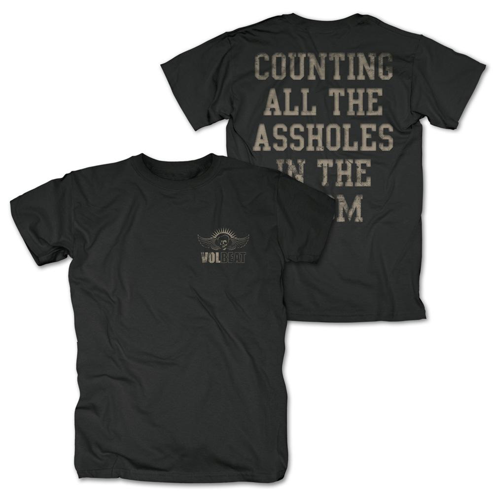 √Counting All von Volbeat - T-shirt jetzt im Volbeat Shop
