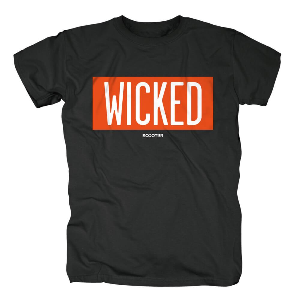 Wicked Typo von Scooter - T-Shirt jetzt im Scooter Shop