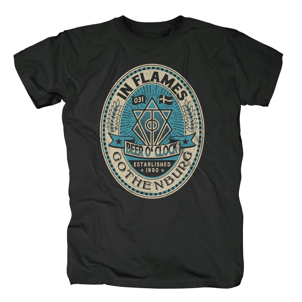 √BeerOClock von In Flames - T-Shirt jetzt im In Flames Shop