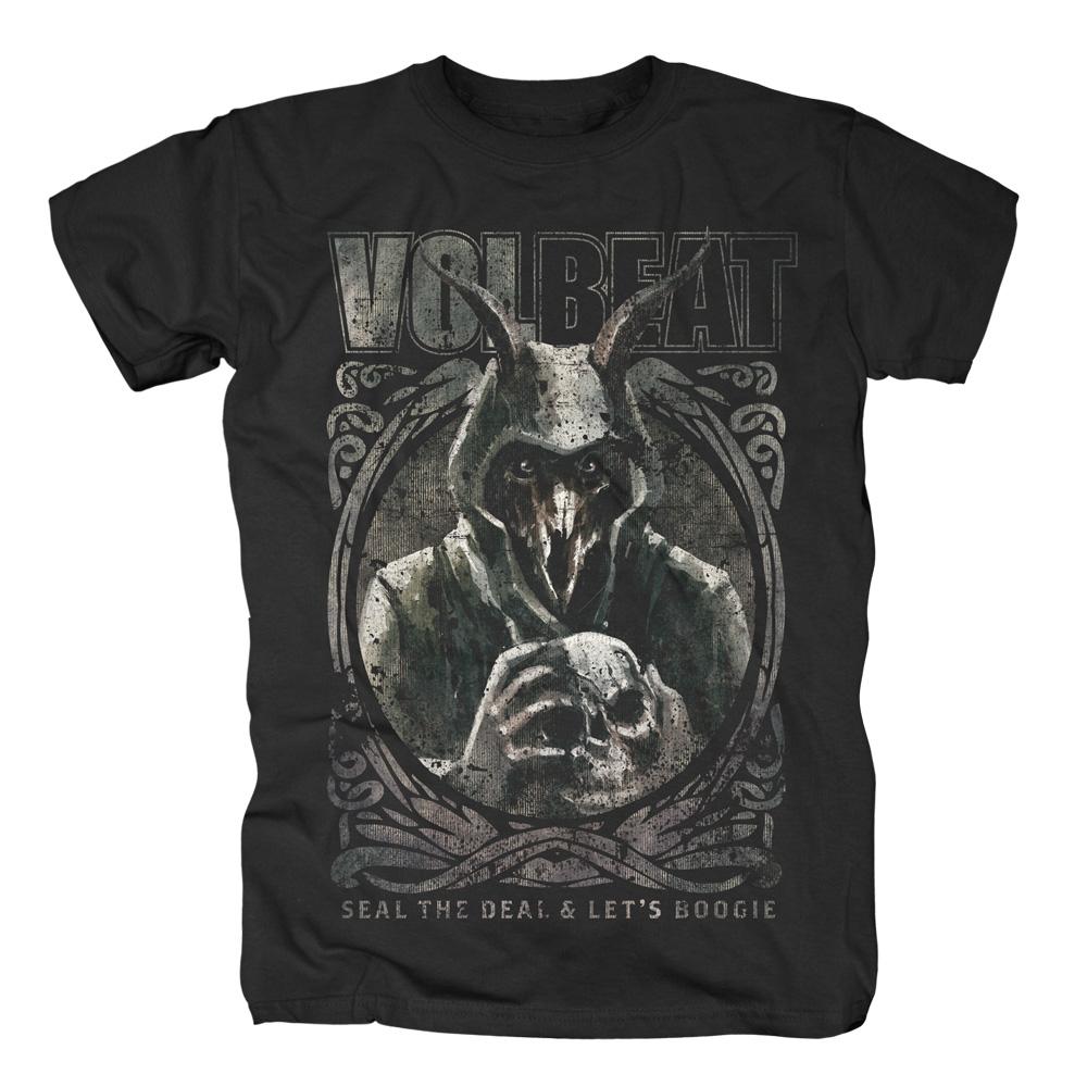 √Goat With Skull von Volbeat - T-Shirt jetzt im Volbeat Shop