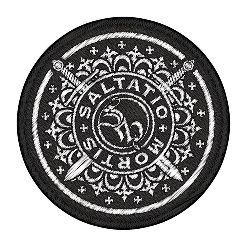 Drachen Logo von Saltatio Mortis - Patch jetzt im Saltatio Mortis Shop