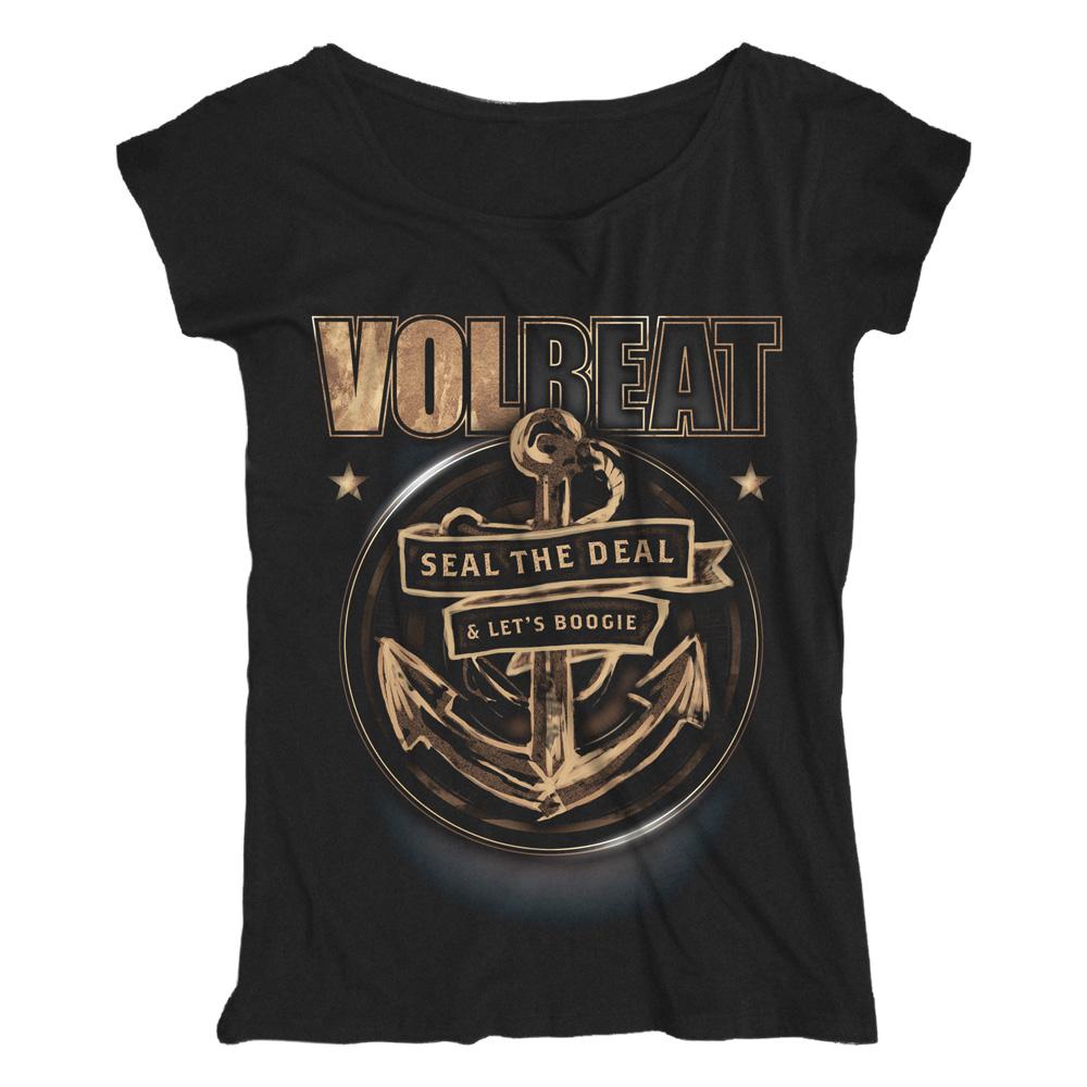 √Anchor von Volbeat - Loose Fit Girlie Shirt jetzt im Volbeat Shop