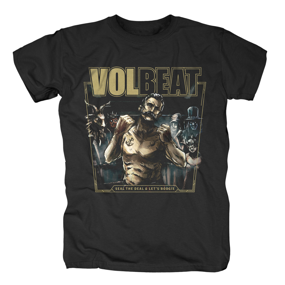 √Seal The Deal & Let's Boogie Cover von Volbeat - T-shirt jetzt im Volbeat Shop