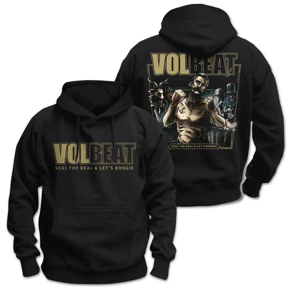 √Seal The Deal & Let's Boogie Cover von Volbeat - Hood sweater jetzt im Volbeat Shop
