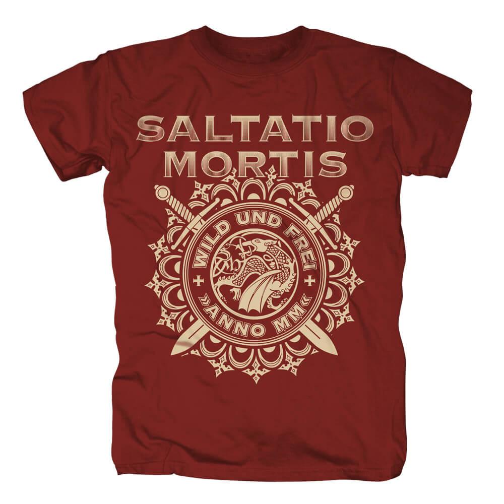 Wild & Frei Ornaments von Saltatio Mortis - T-Shirt jetzt im Saltatio Mortis Shop