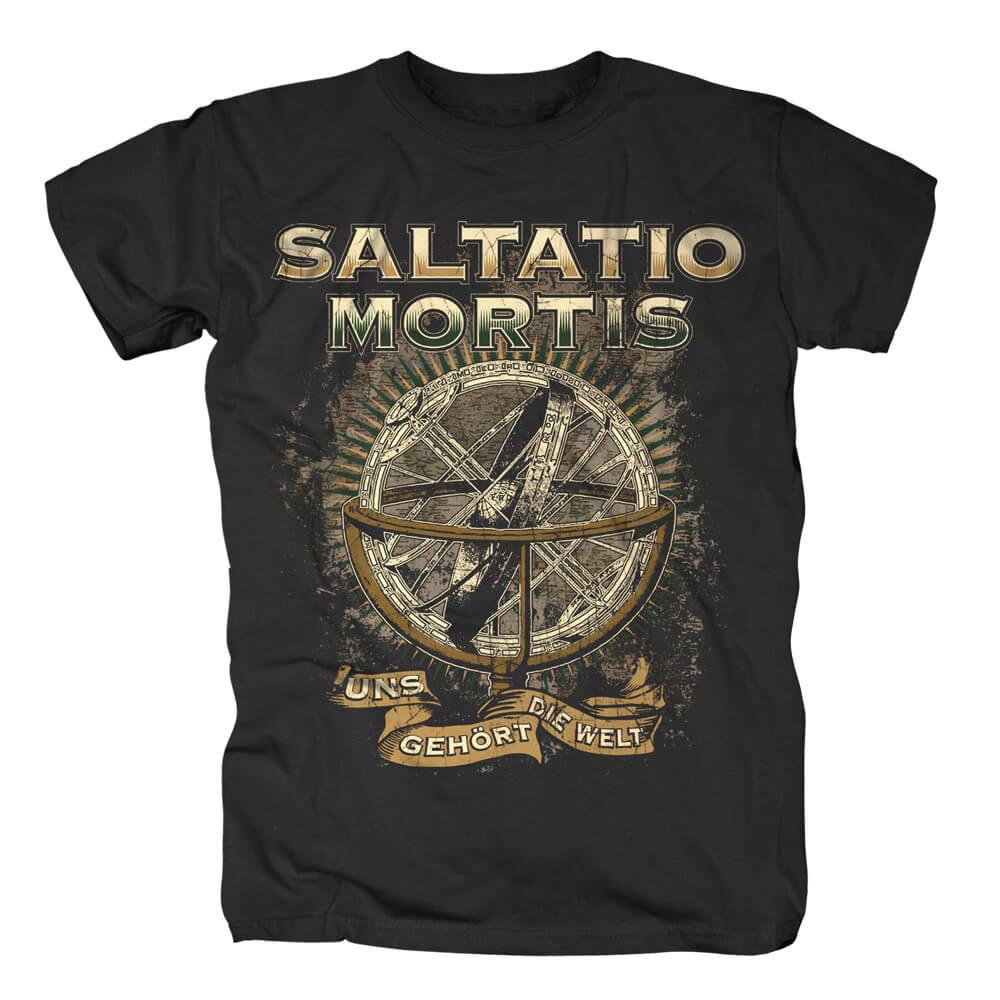 Uns gehört die Welt von Saltatio Mortis - T-Shirt jetzt im Saltatio Mortis Shop