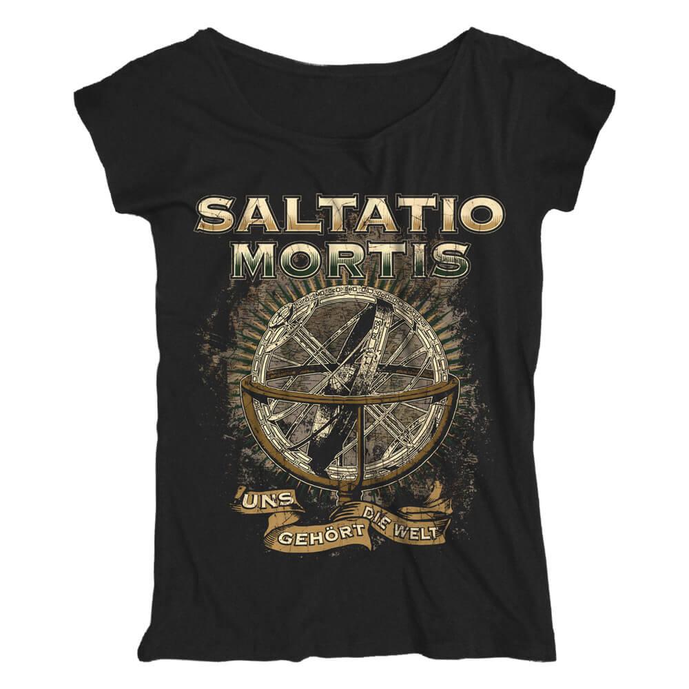 Uns gehört die Welt von Saltatio Mortis - Loose Fit Girlie Shirt jetzt im Saltatio Mortis Shop