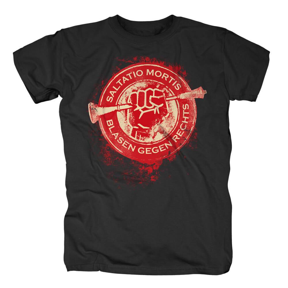 Blasen gegen Rechts Kreis von Saltatio Mortis - T-Shirt jetzt im Saltatio Mortis Shop